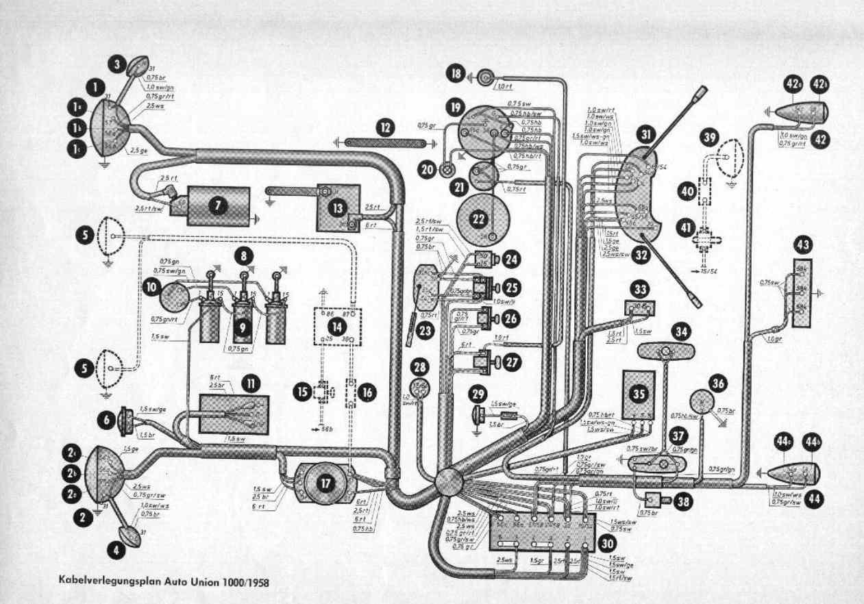 Charmant Porsche 356 Schaltplan Fotos - Die Besten Elektrischen ...
