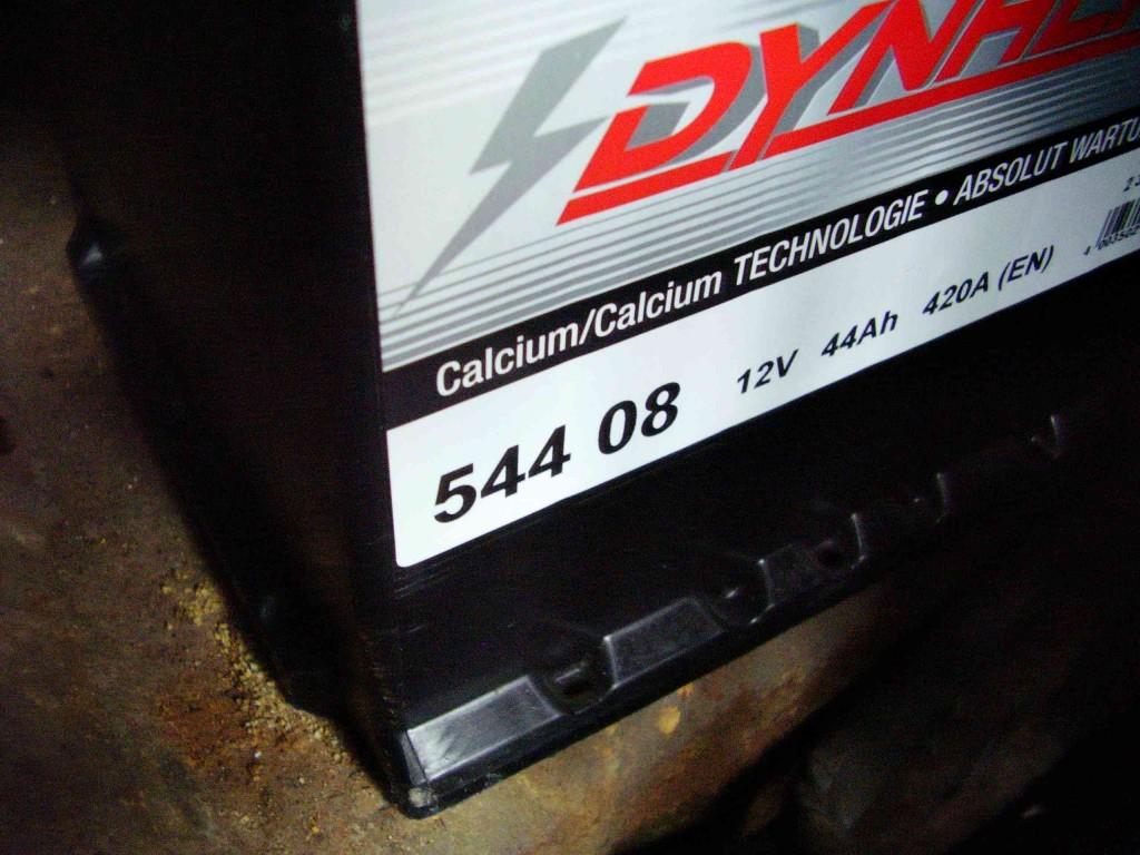 Daten 12 Volt Batterie